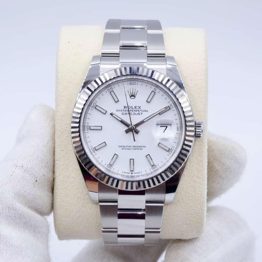 Rolex Datejust 41 Ref 126334 - white