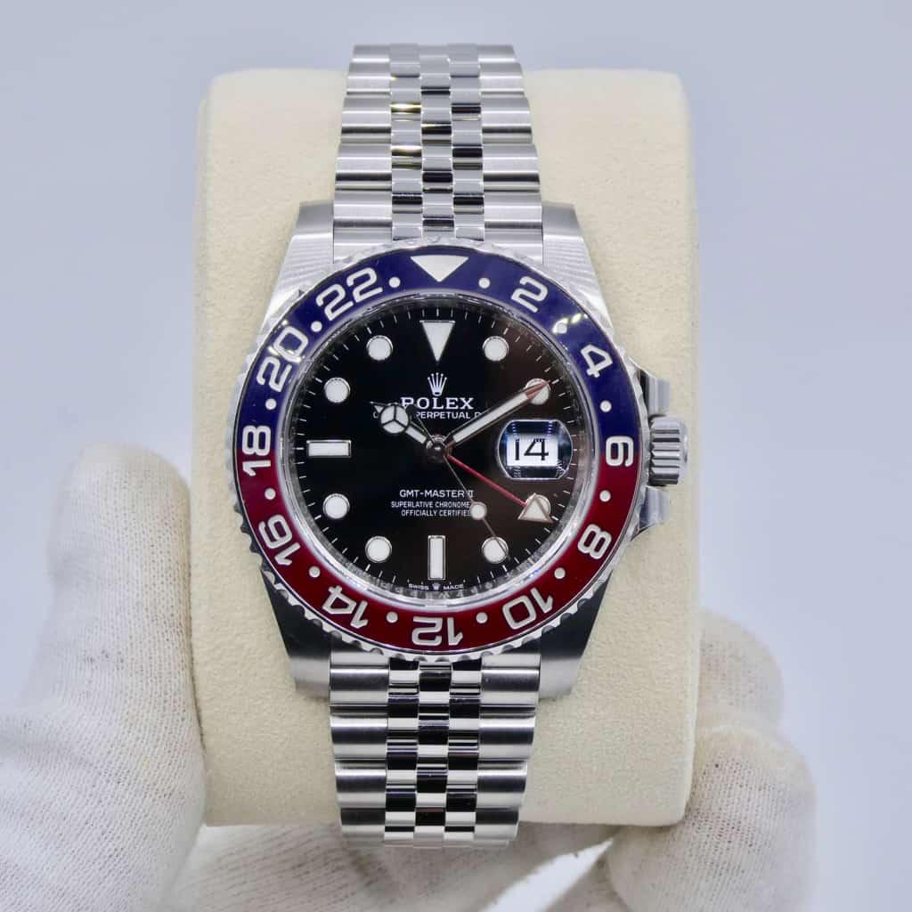 Rolex GMT Master II Ref 126710BLRO - Pepsi